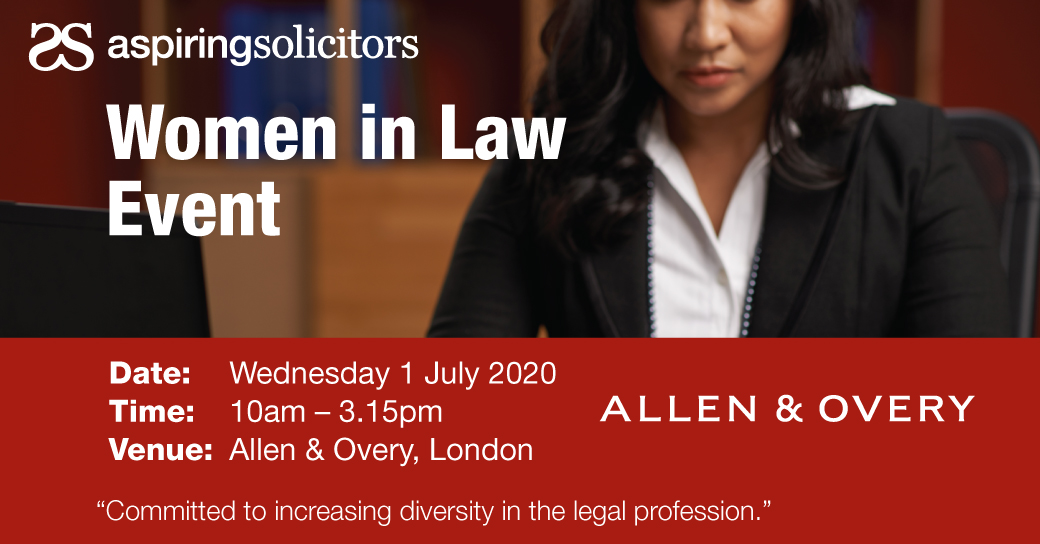 AS Women In Law Event with A&O
